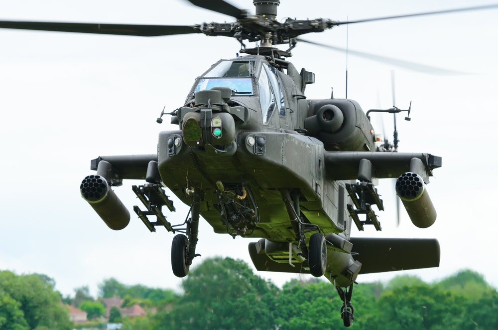 Apache Attack Helicopter:  Protect The Best Men & Women on the Ground